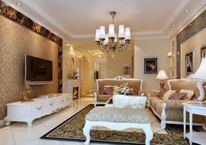 简欧式家居客厅
