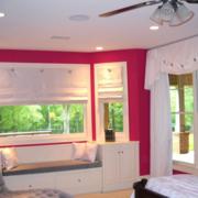 粉色甜美的飘窗