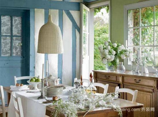 小别墅家庭法式西餐厅装修效果图