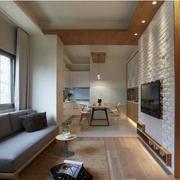 单身小公寓日式设计