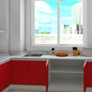大户型厨房装修图片