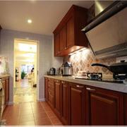 美式创新新式厨房样品图