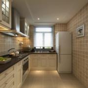 大户型别墅干净厨房橱柜