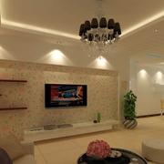 现代田园客厅设计