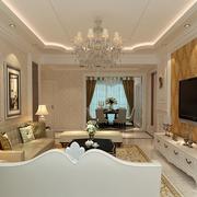 精致华丽的客厅