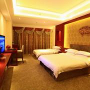 酒店标准间卧室