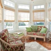 简约系列客厅窗帘设计