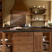 厨房实木精巧橱柜
