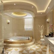 唯美风格浴室装修图片