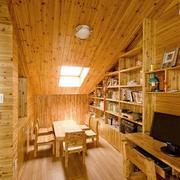 阁楼实木吊顶欣赏