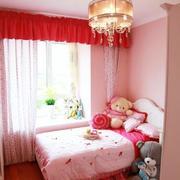 儿童房红色时尚卧室