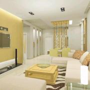 清新舒适的家居客厅