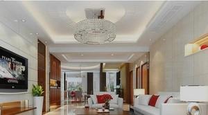 自然风格客厅吊顶设计