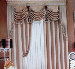 跃层式住宅欧式窗帘飘窗设计效果图