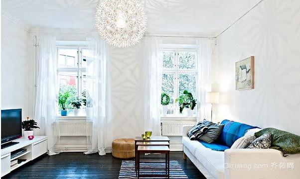 清晨般阳光家居 北欧风格公寓装修设计图