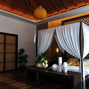 别致中式家居卧室