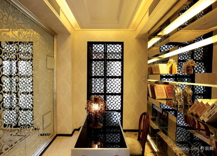 时尚简约15㎡小书房室内装修效果图