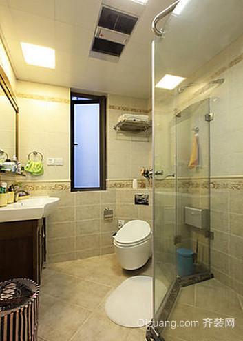 简欧式3平米小型卫生间装修效果图