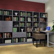 复式楼欧式简约时尚型书柜