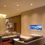 别墅客厅背景墙设计