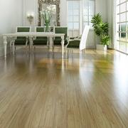 三居室地板实木效果