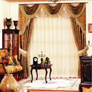 欧式复古典雅的窗帘