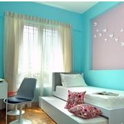 卧室浅蓝色墙面