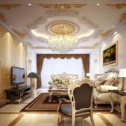 客厅简约优雅设计图