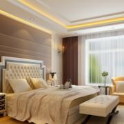 优雅气质的卧室背景墙