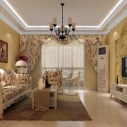 两居室客厅展示
