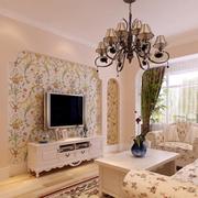 客厅复古典雅吊灯