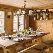 家居餐厅实木餐桌椅