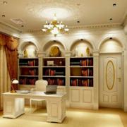 简约风格书房效果图片