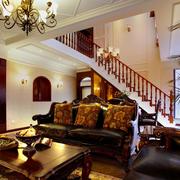 美式现代化的楼梯