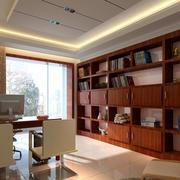 书房美式书柜