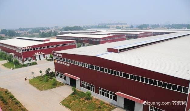 钢结构厂房装修图片展示