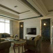 精致型客厅吊顶装修