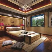 小户型中式风格卧室
