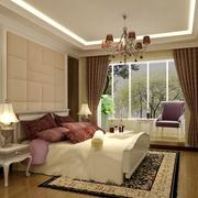 典雅优美卧室飘窗