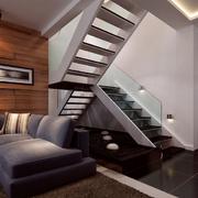 前卫都市楼梯玻璃扶手