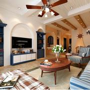 美式家装客厅