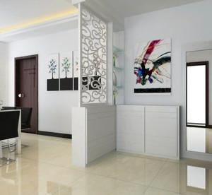 大户型欧式客厅鞋柜背景墙装修效果图