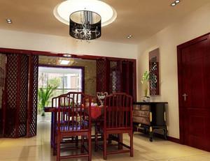 中式餐厅餐桌椅欣赏