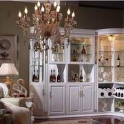 法式浪漫的酒柜