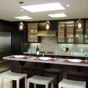 新中式奢华系列厨房吧台