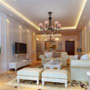 明亮宽敞的客厅