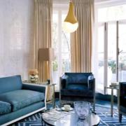 精致型客厅窗帘设计