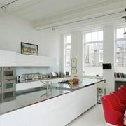 白色干净厨房欣赏