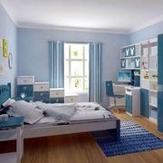现代宜家的卧室
