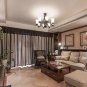 经典大户型美式公寓客厅